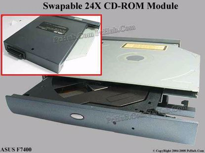 Picture of ASUS F7400 CD-ROM - Swapable  24X TEAC