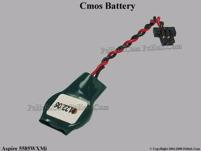 Picture of Acer Aspire 5585WXMi Battery - Cmos / Resume / RTC .