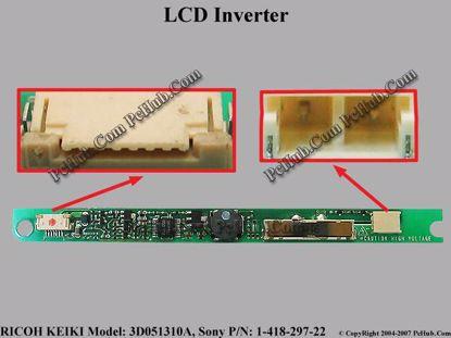 3D051310A, Sony P/N: 1-418-297-22