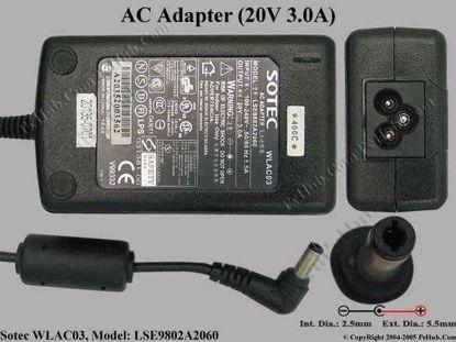 "WLAC03 , LSE9802A2060, ""New"""