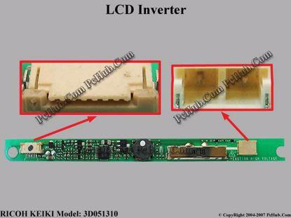 3D051310 , 3D05-1 , Sony P/N: 1-418-297-11