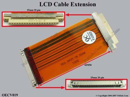OECV019 (20 pins x 25 mm)