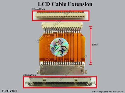 OECV020 (20 pins x 22 mm)