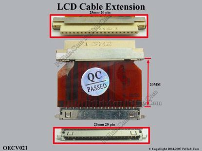 OECV021 (20 pins x 25 mm)