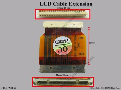 OECV032 (20 pins x 22 mm)