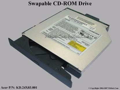 Acer P/N: KD.24X03.001, KD24X03001 , KD.24X06.001