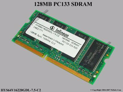 HYS64V16220GDL-7.5-C2, FRU 19K4653
