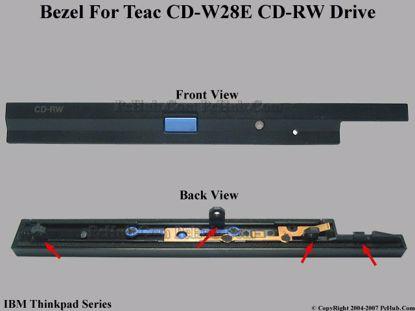 Picture of IBM Thinkpad T30 Series CD-RW - Bezel CD-W28E