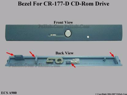 Picture of ECS A900 CD-ROM - Bezel CR-177-D