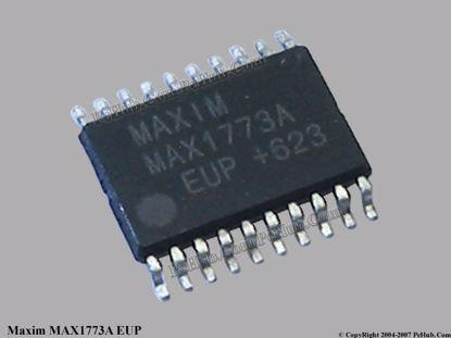 MAX1773AEUP / MAX1773A EUP