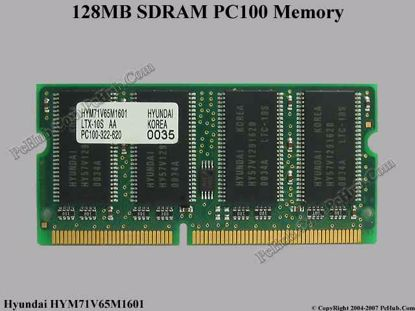 HYM71V65M1601, PC100-322-620