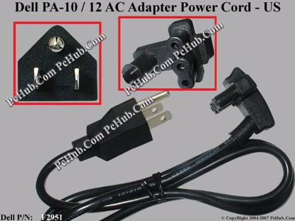 For Dell PA-10 & PA-12(Dell PN: F2951) AC Adapter