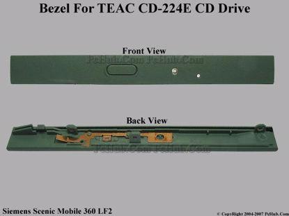 Picture of Siemens Scenic Mobile 360 LF2 CD-ROM - Bezel CD-224E