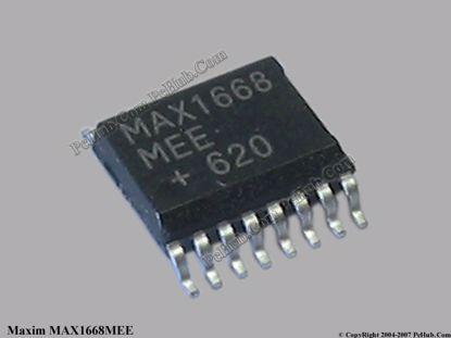 MAX1668MEE / MAX1668 MEE
