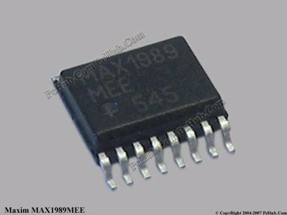 MAX1989MEE / MAX1989 MEE