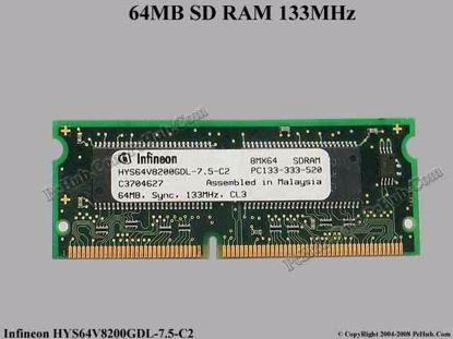 HYS64V8200GDL-7.5-C2
