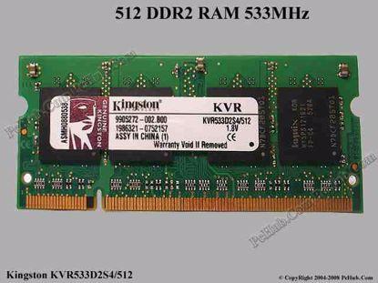 KVR533D2S4/512