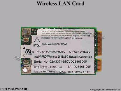 WM3945ABG MOW1 , Acer P/N: KI.GLN01.001