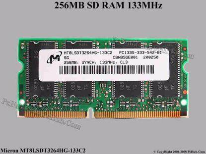 MT8LSDT3264HG-133C2 , IBM FRU 19K4655
