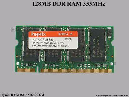 HYMD216M646C6-J , PC2700S-25330