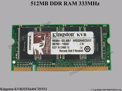 KVR333X64SC25/512
