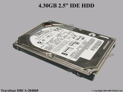 DBCA-204860  , IBM P/N: 25L2713, 3LL9911
