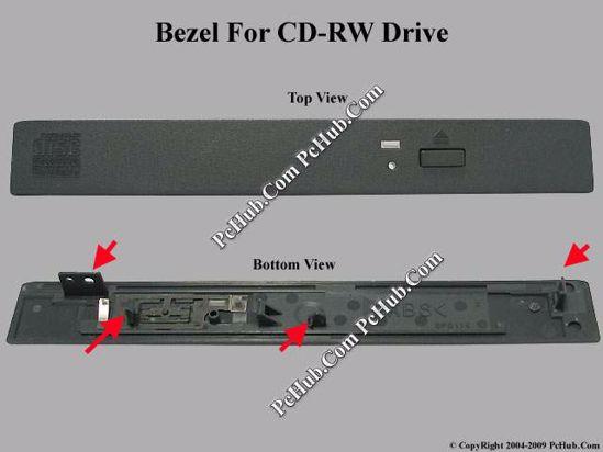 Picture of Acer TravelMate 613TXV CD-RW - Bezel For UJDA330