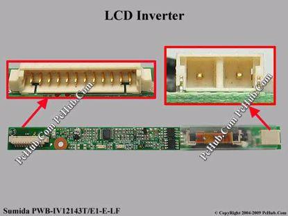 PWB-IV12143T/E1-E-LF, IV12143/T-LF, 83-1200000007G
