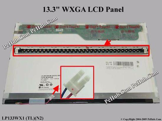 LP133WX1 (TL)(N2) , DP/N: 0DW920 DW920