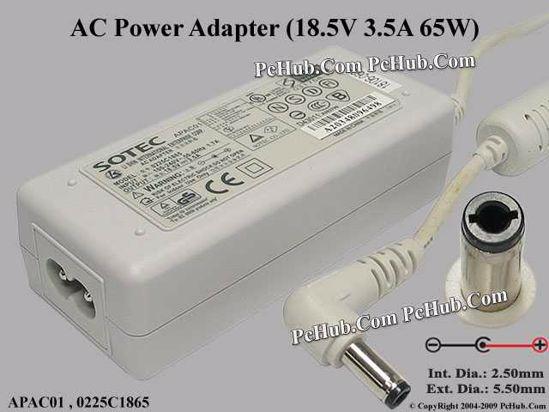 APAC01 , 0225C1865 , 83-110114-0100
