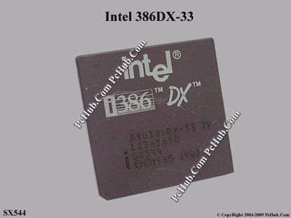 SX544, 33MHz