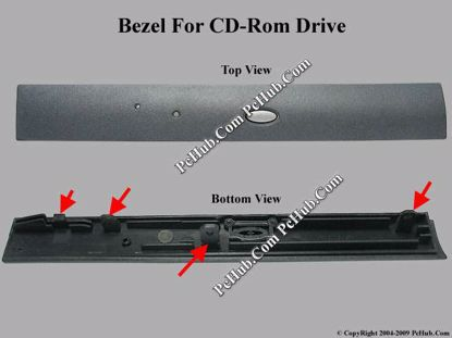 Picture of ASUS F7400 CD-ROM - Bezel For CD224E