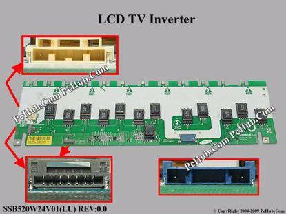 SSB520W24V01(LU) REV:0.0, INV52B24E(LU)