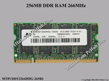 MT8VDDT3264HDG-265B3