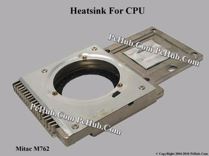 Picture of zMitac M762 Cooling Heatsink .