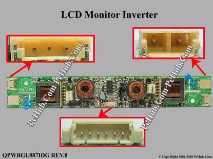 QPWBGL887IDG REV.0, L0110,849-400-0003-1