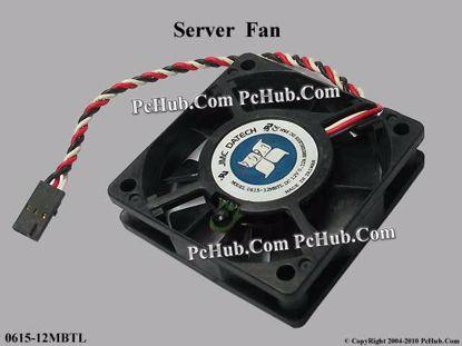 0615-12MBTL, (9 fan plate), Dell P/N: 89506, 08950