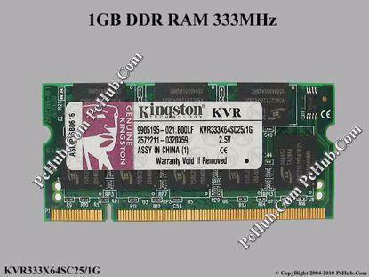 KVR333X64SC25/1G