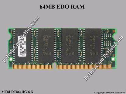 MT8LDT864HG-6 X