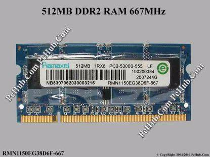 RMN1150EG38D6F-667, HP SPS: 417054-001