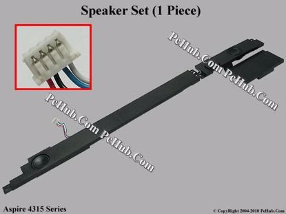 Picture of Acer Aspire 4315 Series Speaker Set .