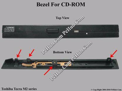Picture of Toshiba Tecra M2 series CD-ROM - Bezel .