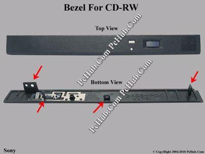 Picture of Sony Common Item (Sony) CD-RW - Bezel for UJDA330