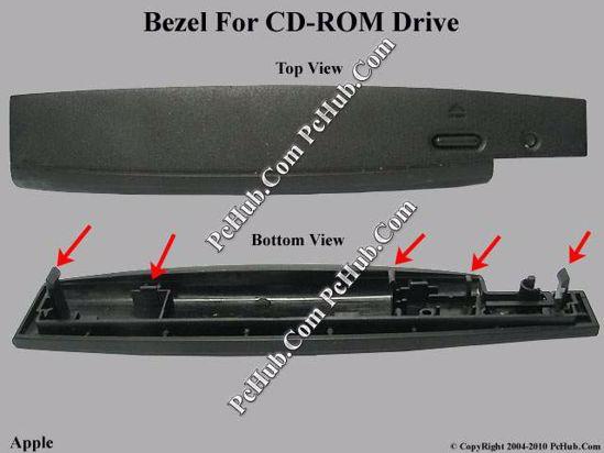 Picture of Apple Common Item (Apple) CD-ROM - Bezel For M2451