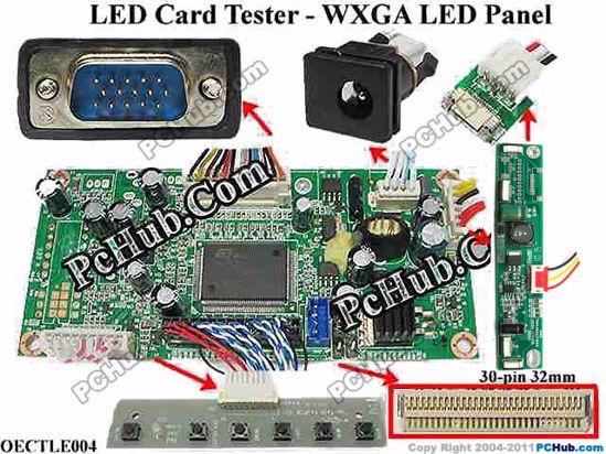 OECTLE004, 1280 X 800 Resolutio, 30-pin 32mm width