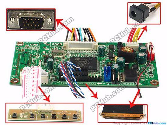 OECTLE005, 1366 x 768 , 40-pin 20mm width