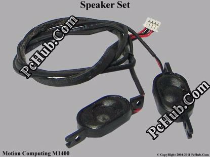 Picture of Motion Computing M1400 Speaker Set .
