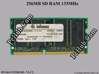 HYS64V32220GDL-7.5-C2