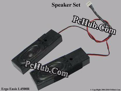 Picture of Ergo Ensis L4500R Speaker Set .