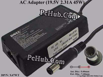 DP/N: X47WT 0X47WT, P/N: DA45NM104-00, PA-1M10 Fam